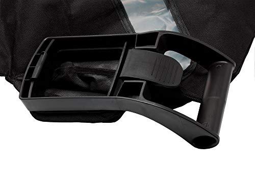 Laubbläser/Laubsauger Fangsack mit Reißverschluss, 50 l Fassungsvermögen, Füllstandsanzeige, passend für Laubsauger/Laubbläser mit eckigem Anschluss