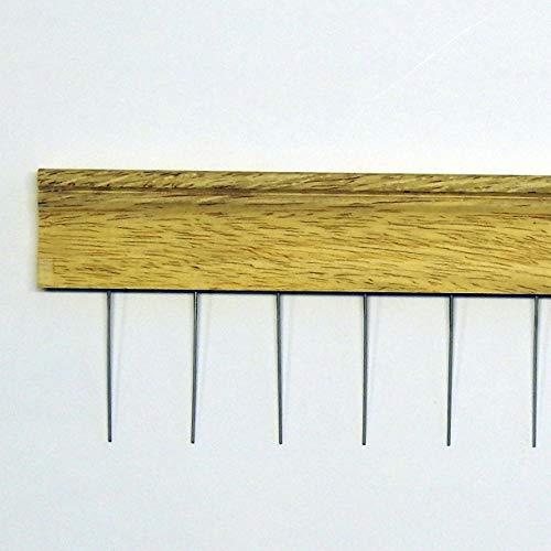 Hin & Her Peigne à barbe Jaune 50/3 cm