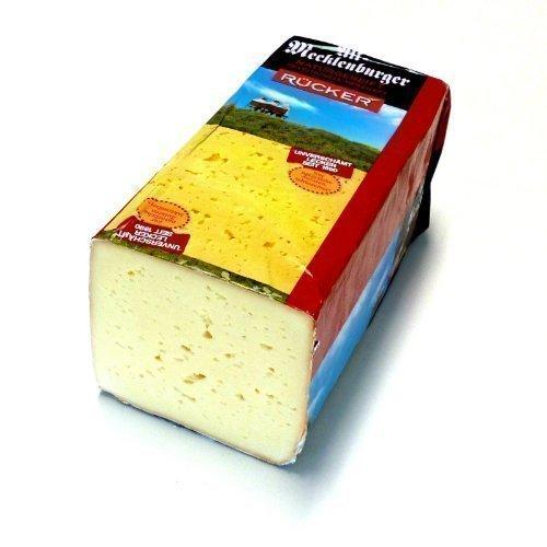 Alt Mecklenburger Tilsiter 45% Fett i.Tr. kräftiger Käse 500g inklusive Kühlversand in Styroporbox mit Kühlakku