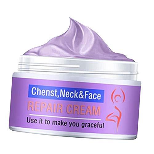 F Fityle Crema Facial Antienvejecimiento para El Cuello Crema Hidratante de Día Antiarrugas Hidratante Hialurónica Adecuada para Todo Tipo de Pieles - 10g