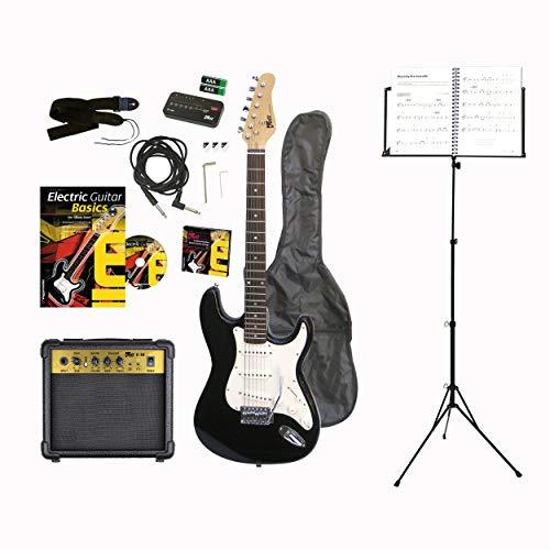 Voggenreiter - Set de Guitarra eléctrica (12 Piezas, Guitar