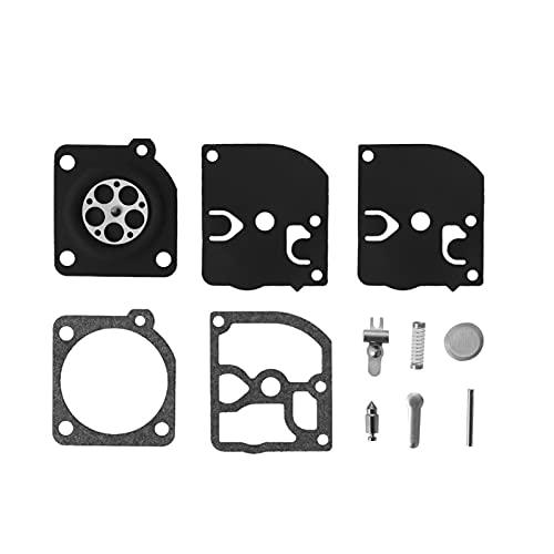 Kit de reparación de la reconstrucción de carbohidratos Piezas de carburador Diafragma Kit de reparación Compatible para McCulloch 32cc 35cc 38cc Echo Motosierra Accesorio de Taxi