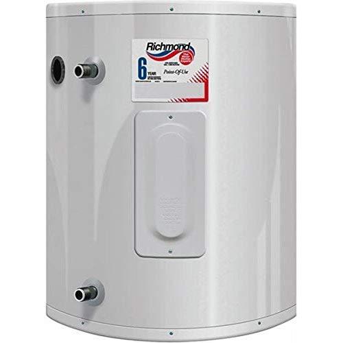 RHEEM/RICHMOND 6ep20-1, 2000 W, 120 Vac, Tank Richmond Electric Water Heater, 20 Gal, 20 gallon