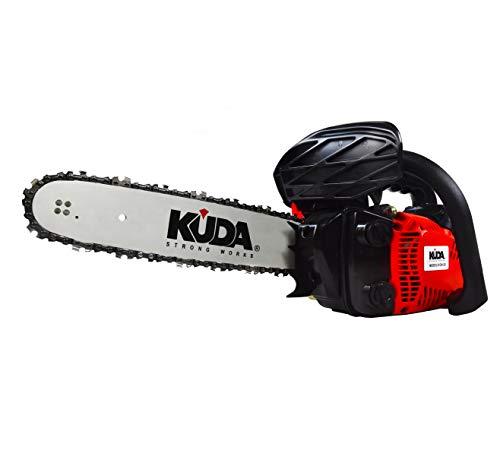 """KUDA 1 Motosierra Podadora de Gasolina 25,4CC Espada 12""""-30cms 3,45Kg"""