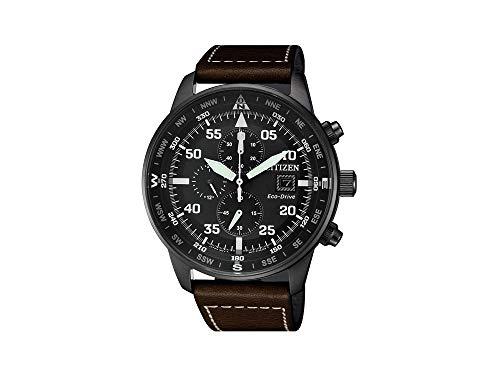 Reloj de Cuarzo Citizen of, Eco Drive B612, 44 mm, Correa de Piel, CA0695-17E