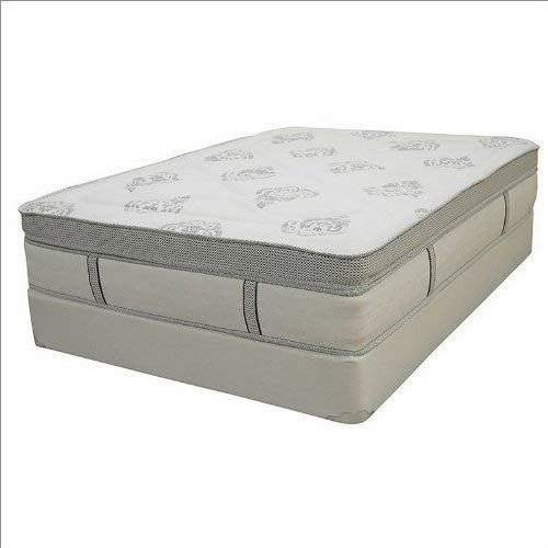 "Hampton and Rhodes Aruba 14"" Innerspring Gel Memory Foam & Pocketed Coil Pillowtop Mattress King"