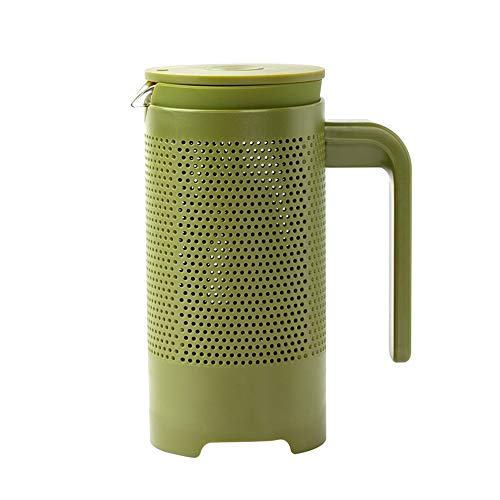 Lowest Prices! Stainless Steel Insulated Coffee Maker Coffee Appliance French Press Pot Coffee Pot H...