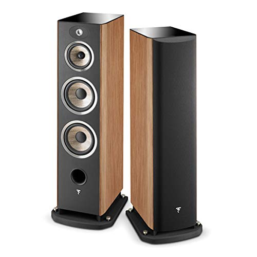 Best Deals! Focal Aria 948 3-Way Bass Reflex Floorstanding Speaker - Pair (Prime Walnut)