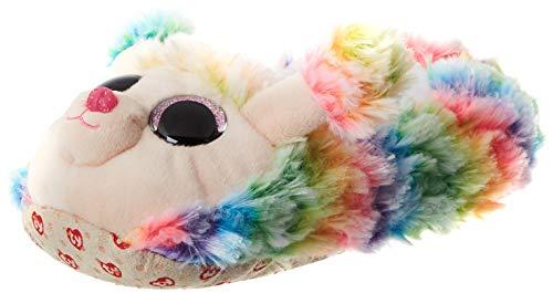 TY Jungen Unisex Kinder Rainbow Poodle Slipper, Mehrfarbig, 20 EU