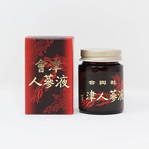 【清水薬草】會津人参(御種人参、薬用人参、高麗人参、朝鮮人参) 液 60g