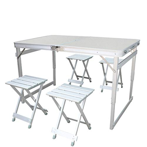 LZL Barbecue Camping Folding Table, Lightweight And Portable Camping Table, Indoor And Outdoor,Use Used As Picnic Table, Grill Side Table, BBQ (Color : B)