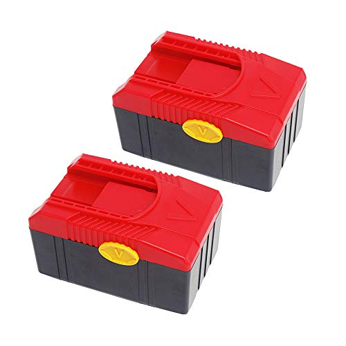 FengWings 2 Pcs 18V 4000mAh CTB6187 Replace Li-ion Battery CTB6185 CTB4187 CTB4185 Compatible with Snap On CTC620 CTCFA620 CTCFE620 CT4850HO