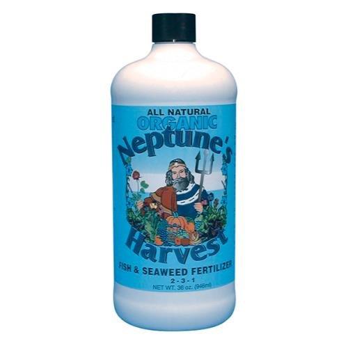 Neptune's Harvest FS136 32 Oz. Fish & Seaweed Blend Fertilizer 2-3-1