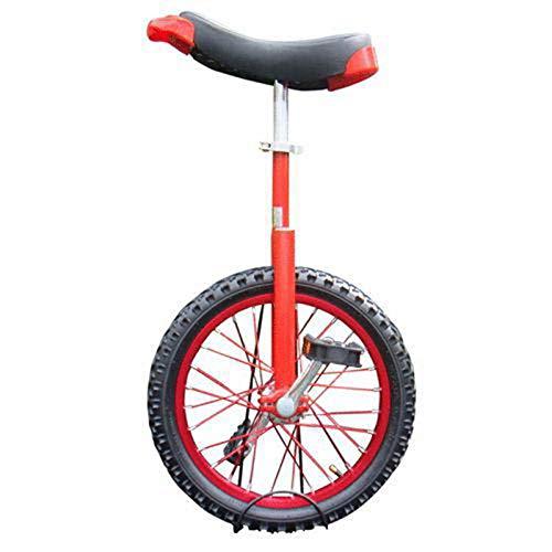 """MXSXN Bunte Räder Aus Aluminiumlegierung 14/16/18/20 Zoll Wettbewerbsfähiges Einrad Kinder Einzelrad Sport Erwachsenen Laufrad,14\"""""""
