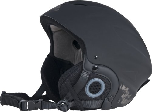 Trespass Skyhigh de ski casque de protection , noir ,(Taille L 58-62cm)