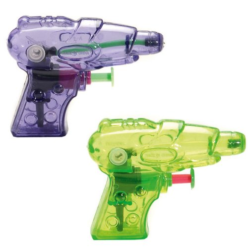 Cofalu - 147 - Jeu de Plein Air - Mini Pistolet à Eau - 10 cm, Couleur Assortie