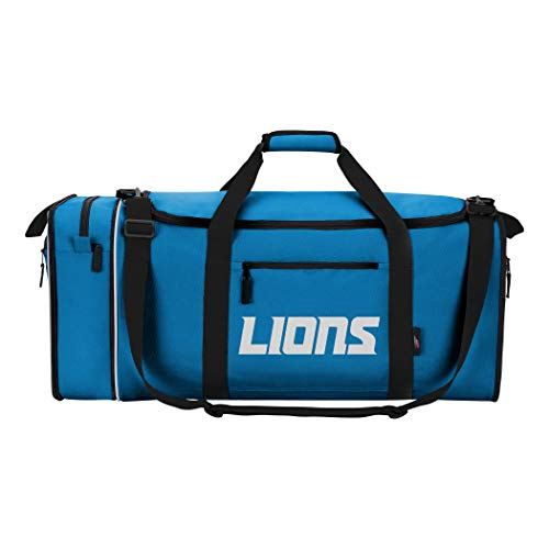 "NFL Detroit Lions ""Steal"" Duffel, 28"" x 11"" x 12"""