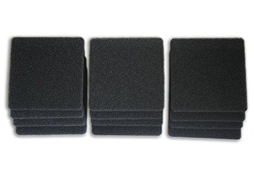 LTWHOME Compatible en Mousse Filtration Convient pour Rena Filstar XP Filtres Média 724A 30PPI(Paquet de 12)