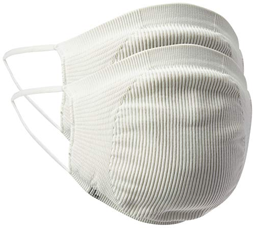 Kit com 2 Máscaras Bac OFF Microfibra Lupo, Branco, U Branco Único