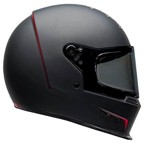 BELL Eliminator Helmet (Vanish Matte Black/Red - Small)
