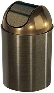 Umbra Mezzo Swing-Top Waste Can, 2.5-Gallon (10 L), Bronze