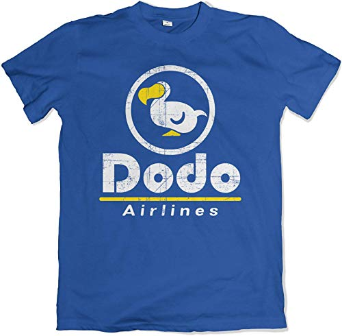 Dodo Airlines Crossing The Animal Kingdom Blue Game T Shirt