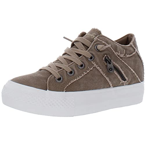 Blowfish Melondrop Taupe Hipster Smoked Twill 8.5 M
