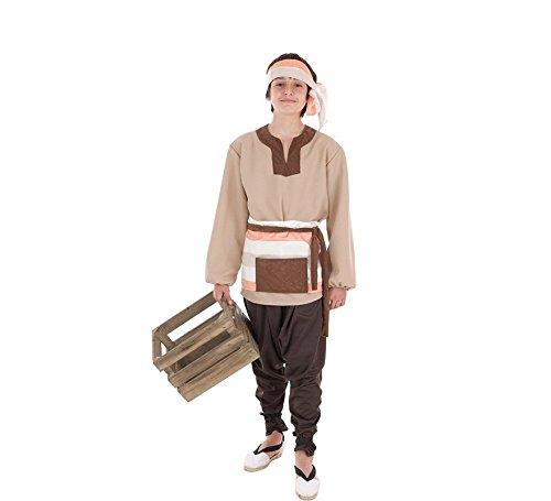 Creaciones Llopis Disfraz de Mercader Medieval para nio