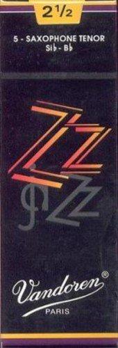 CAÑAS SAXOFON TENOR - Vandoren (ZZ) (Caja Negra) (Dureza 3) (Caja de 5 Unidades)
