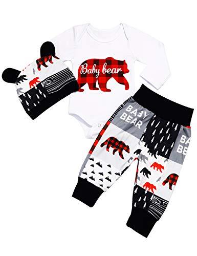 Newborn Baby Boy Clothes Fall Outfi…