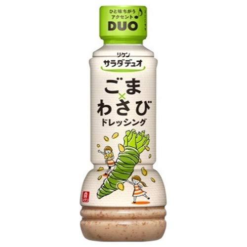 理研ビタミン リケン サラダデュオ ごまわさびドレッシング 300mlペットボトル×12本入