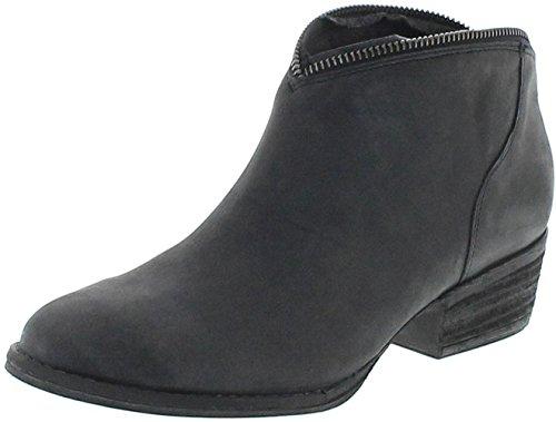 Mezcalero Boots 2033 Sofia Negro Lederstiefette für Damen Schwarz Fashion Stiefelette, Groesse:37