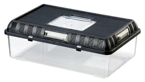 Exo Terra Breeding Box, Brutbox, stapelbares Zuchtterrarium, L, 41,5 x 26,5 x 14,8cm
