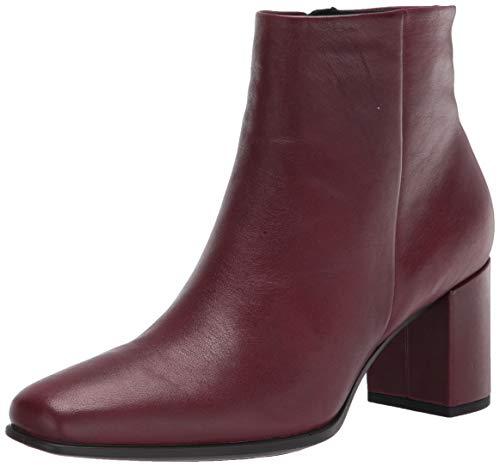 ECCO Damen Shape 60 Squared Ankle Boot, Syrah, 41 EU