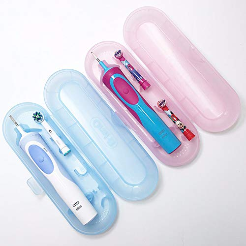 Warmtower - Funda de viaje para cepillo de dientes eléctrico Oral-B Daily and Travel Use, color azul
