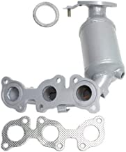 Catalytic Converter Compatible with 2002-2006 Toyota Camry Front Radiator Side with Exhaust Manifold Driver Side