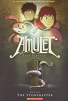 Paperback The Stonekeeper (Amulet #1) (1) Book