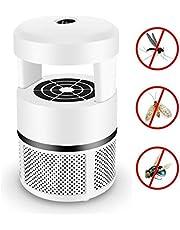 Tuzi Qiuge Artefacto Mosquito doméstico en el Interior del USB del Mosquito de la lámpara Plug-in Mute Anti- Mujeres Embarazadas y bebés indicadas for dormitorios (Color : White)