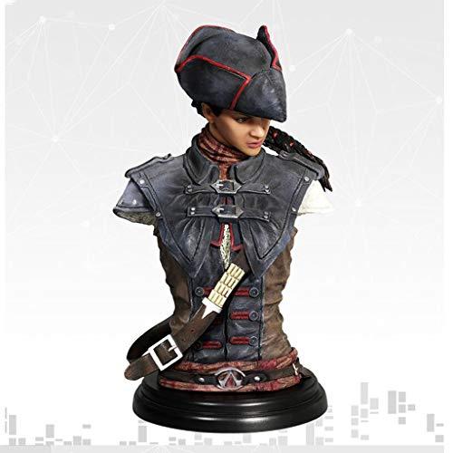 LBBD Aveline en Assassins Creed III: Liberación Busto Estatua Figura de acción de Exquisita Caja - 19cm