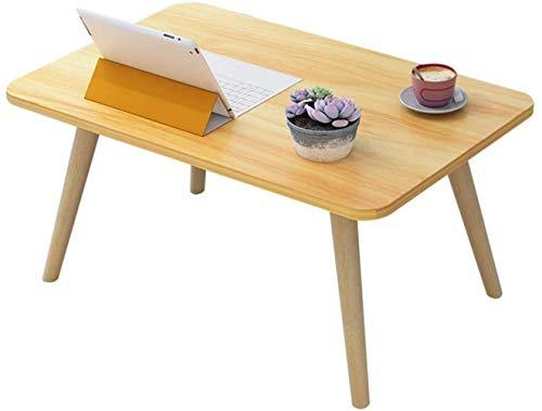 Coffee Table Muebles de sala de estar pequeños cuadrados de madera para computadora de escritorio de escritorio para escritorio pequeño Mini (color : C, tamaño: 50 x 40 cm)