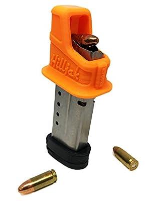 Hilljak S&W M&P Shield, 908, 3913, 3914, 3953; 9mm Single-Stack Magazine Loader Orange