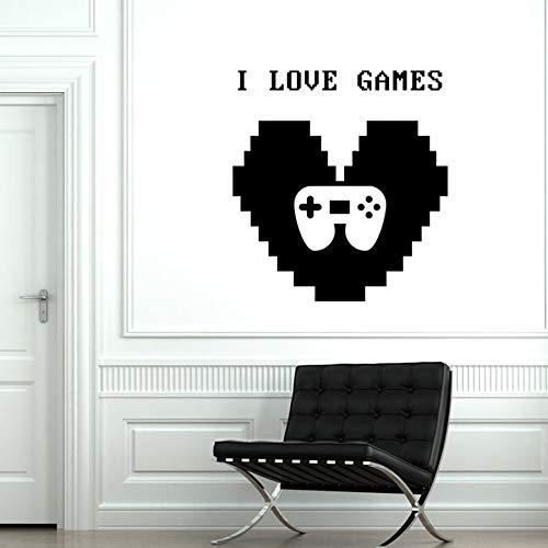 Tianpengyuanshuai Ik hou van spel muur decal logo vinyl muur sticker gamepad controller muurschildering