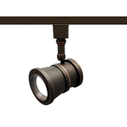 WAC Lighting H-LED208-30-AB Contemporary Summit ACLED 15W Beamshift Line Voltage Traditional H-Track Head