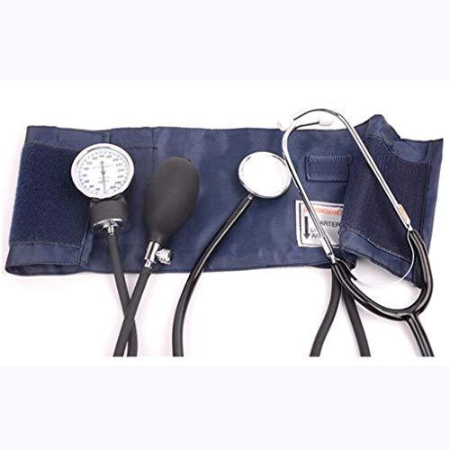 Esfigmomanómetro manual profesional para presión arterial – esfigmomanómetro manual sin mercurio, duradero, adecuado para toda la familia, disponible en una variedad de tamaños