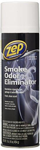 Zep Commercial Smoke Odor Eliminator 16 Ounce - 2-Pack