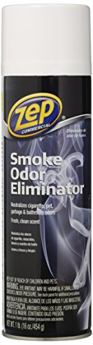 Zep Commercial Smoke Odor Eliminator 16 Ounce - 2-Pack