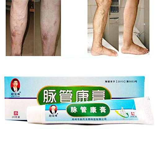 Krampfadern Creme, ROMANTIC BEAR Krampfadern Relief Phlebitis Angiitis Entzündung Blutgefäß Health Care Salbe