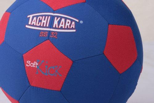 Tachikara SS32 Tejido Suave para balón de fútbol, Color Azul/Rojo ...