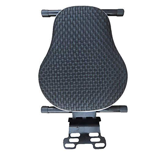 Betrothales kindersitz für fahrrad - motorrad roller vorne klappsitz batterie autosicherheitssitz Sale Coole Sachen (Color : Schwarz-Size)