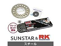 サンスター KR3K101 スプロケット&チェーンキット(スチール) スーパーシェルパ